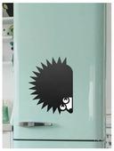 Доска на холодильник меловая Doski4you Ежик (29х39 см)
