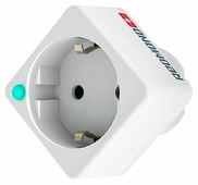 Розетка REDMOND RSP-103S,10А, с заземлением, белый