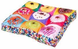Подушка для кошек, для собак Ferplast Love Donuts (81055099C) 55х55х11 см