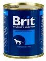 Корм для собак Brit говядина с рисом 850г