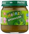 Пюре Heinz брокколи (с 4 месяцев) 80 г, 1 шт