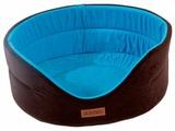 Лежак для собак Katsu Suedine XXL 70х62х25 см