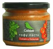 Соймик Тофу-паста Томат и базилик, 300 г