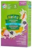 Каша Heinz молочная Лакомая кукурузная с тыквой, черносливом, морковочкой (с 5 месяцев) 200 г