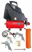 Компрессор безмасляный Fubag Service Master Kit, 6 л, 1.1 кВт