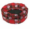 Лежак для кошек, для собак Ferplast Toffee 50 (82252099) 48х48х20 см