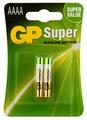 Батарейка GP Super Alkaline АААA