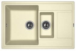 Врезная кухонная мойка FLORENTINA Липси-780К 78х51см искусственный гранит