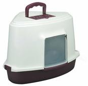 Туалет-домик для кошек Triol LB03 56.5х42.5х40 см