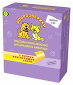 Пеленки для собак впитывающие Доброзверики ЛС90 90х60 см