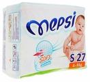 Mepsi подгузники Soft&breathing S (4-9 кг) 27 шт.