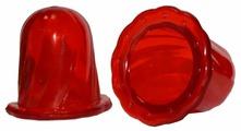 Вакуумные банки Торг Лайнс Тюльпан для интенсивного воздействия, красный