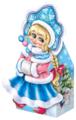 Подарочный набор ПоДари Внучка Снегурочка 800 г