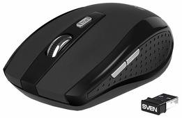 Мышь SVEN RX-335 Wireless Black USB