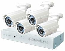 Комплект видеонаблюдения IVUE D5004 AHC-B4 4 камеры