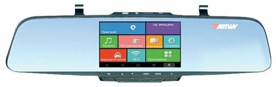 Видеорегистратор Artway AV-630 Android, 2 камеры, GPS