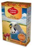 Родные корма Корм С фруктами для волнистых попугаев