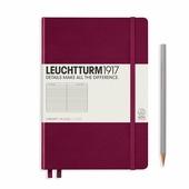 Блокнот Leuchtturm1917 359691 (винный) A5, 124 листа