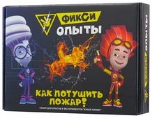 Набор Инновации для детей Фикси-опыты. Как потушить пожар?