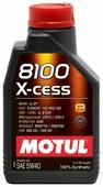 Моторное масло Motul 8100 X-cess 5W40 1 л