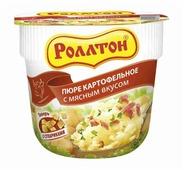 Роллтон Пюре картофельное с мясным вкусом 40 г