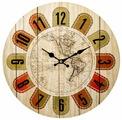 Часы настенные кварцевые Русские подарки 138641