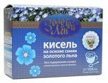 Кисель ВИТАПРОМ Золотой лен на льняной основе Ванилин с какао 7 шт. по 15 г