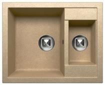 Врезная кухонная мойка Tolero R-109 62.5х50см полимер