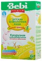 Каша Bebi безмолочная кукурузная с пребиотиками (с 5 месяцев) 200 г