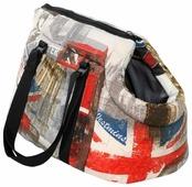 Переноска-сумка для кошек и собак PRIDE Трэвел Лондон 43х24х24 см