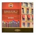 KOH-I-NOOR Пастель сухая Toison D'or 24 цвета