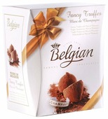 Набор конфет The Belgian Fancy Truffes Marc de Shampagne, 200г