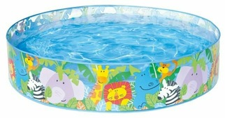 Детский бассейн Intex Animal Fun Snapset 58451