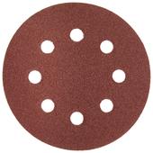 Шлифовальный круг на липучке ЗУБР 35562-125-100 125 мм 5 шт