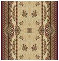 Ковровая дорожка Floare-Carpet шерстяная Floare DOFIN 209-1594
