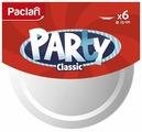 Paclan Тарелки одноразовые пластик 23 см (6 шт.)