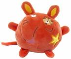 Мягкая игрушка Button Blue Мышка оранжевая 10 см