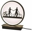 Ночник Dream Lights Прогулка на велосипедах DL-C070-7T(B)