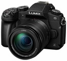 Цифровой фотоаппарат Panasonic Lumix DMC-G80EE Kit 12-60mm Black (DMC-G80MEE-K)