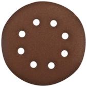 Шлифовальный круг на липучке ЗУБР 35350-150-080 150 мм 5 шт
