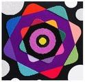 Созвездие Набор для вышивания бисером Калейдоскоп 30 х 30 см (А-02)
