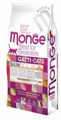 Корм для стерилизованных кошек Monge Natural Superpremium Monoprotein с уткой
