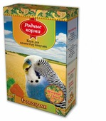 Родные корма Корм С овощами для волнистых попугаев