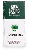 Шоколад Stay Young Spirulina горький со спирулиной 54% какао и 14 суперфудов