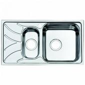 Врезная кухонная мойка IDDIS Arro ARR78PZi77 78х44см нержавеющая сталь