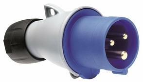 232-P6 Вилка кабельная 32A, 2P+E, IP44 ABB, 2CMA193513R1000