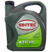 Трансмиссионное масло SINTEC ATF III Dexron