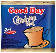 Растворимый кофе Good Day Карибский орех, в пакетиках