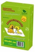 Пеленки для собак впитывающие Доброзверики Сухие лапки 60х90 см