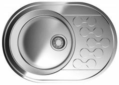 Врезная кухонная мойка OMOIKIRI Kasumigaura 65-IN 4993727 65х46см нержавеющая сталь